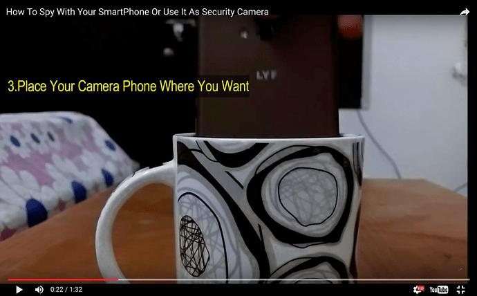 security camera easy setup