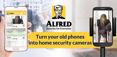 Turn your smartphones into home security cameras with Alfred
