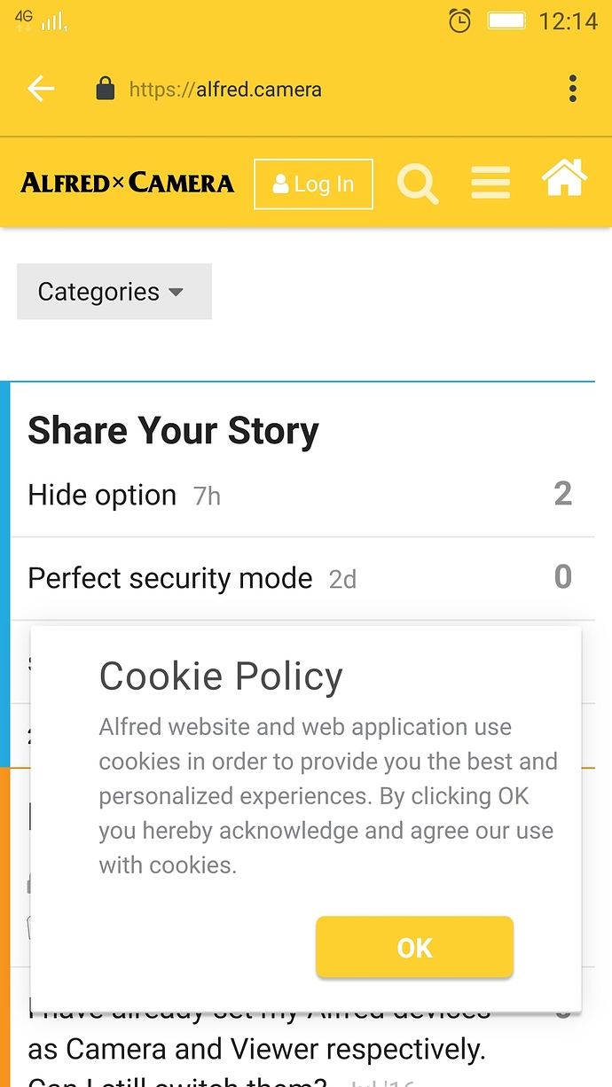 Turn off asking for Cookie permission every time - Got a Question