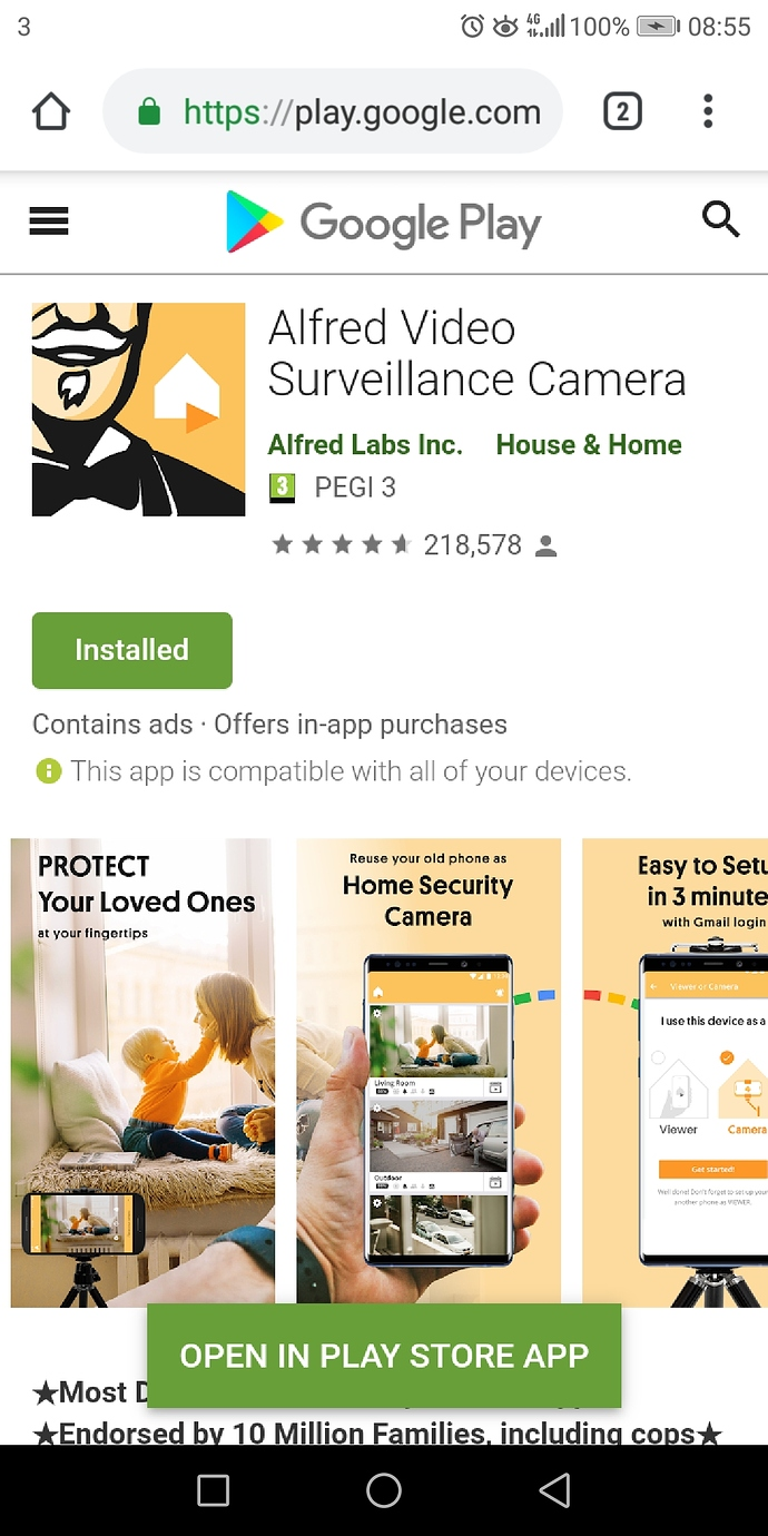 Android Remote App Update - Share Your Story - Alfred Center | get
