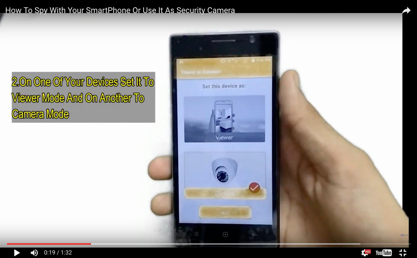 Alfred DIY security camera