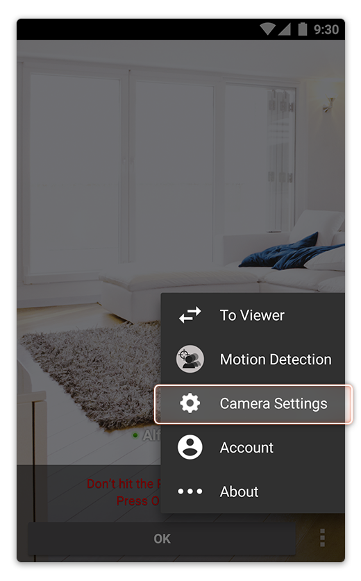 Alfred security camera app