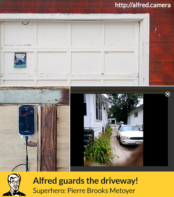 garage security camera