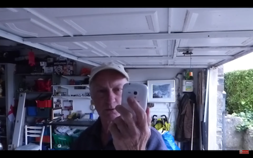 how to use your old phone as a security camera